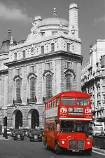 New Double Decker Bus A Typical London Scene Poster
