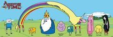 New Character Collage Adventure Time Panoramic Poster