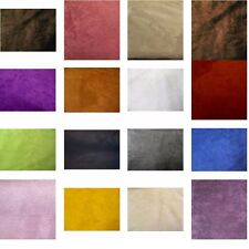 40 COLORS UPHOLSTERY MICRO SUEDE BACKDROP DRAPERY HEADLINER FABRIC $11.99/YARD