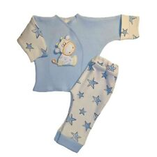Baby Boys' Cow and Stars 2 Piece Clothing Outfit 4 Preemie and Newborn Sizes