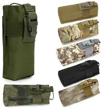 Airsoft Tactical Military Molle Radio Walkie Talkie Belt Pouch Bag Water Bottle