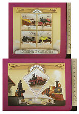 Classic Locomotives Stamps 2015 perf 4 value Sheetlet CTO Excellent NH UKseller