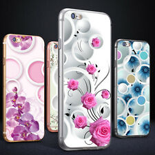 FLORAL CIRCLES PRINT PHONE CASE COVER FOR SAMSUNG GALAXY S6 IPHONE 6 6S LIVELY