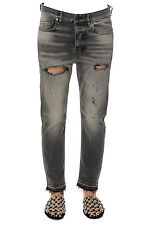 Golden Goose Jeans % Stonewash MADE IN ITALY Woman Greys G30WP0061A2-