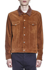 Golden Goose Jacket % Leather MADE IN ITALY Man Browns G30MP5381A2-