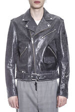 Golden Goose Jacket % Marble Leather MADE IN ITALY Man Blacks G30MP5371A3-