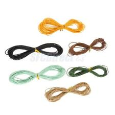 10 Meter Assorted Color Waxed Cotton Cord String For Jewelry DIY Making