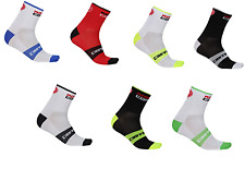7 pairs Castelli  Rosso   cycling socks