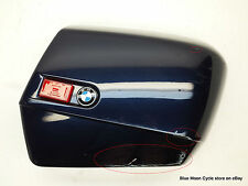 BMW System case cover right blue R1150RT K1200RS #0411179 p/n 46542317616