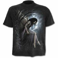Spiral Direct Angel Lament Death Wings Printed Short Sleeved Tshirt