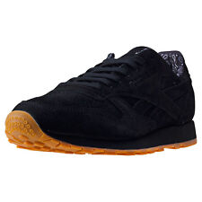Reebok Classic Bandana Pack Mens Trainers Black Gum New Shoes