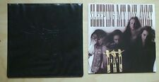 "D-A-D SLEEPING MY DAY AWAY 7"" LIMITED EDITION WITH LEATHER EMBOSSED SLEEVE UK"