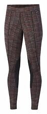 KERRITS WOMENS EQUESTRIAN FLOW RISE PERFORMANCE TIGHT MULTI TWEED LARGE 50200