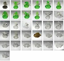 Ben 10 Alien Force Omnitrix Crystal Figures & Ultimatrix Watch Discs