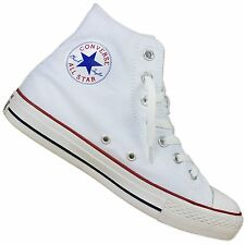 CONVERSE CHUCK TAYLOR ALL STAR HI CANVAS WHITE SNEAKERS CHUCKS SNEAKER 35-43