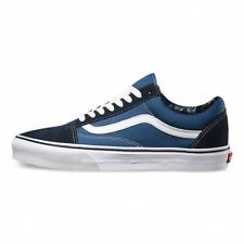 Vans U Old Skool Trainers Navy Shoes Suede Skater UNISEX Blue