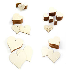 Wooden Love Hearts Wood Craft Shapes Card Making Wedding Rustic Plaque Painting