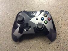 Microsoft Xbox One COVERT FORCES CAMO Controller *USED*