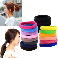 50Pcs Women Girl Hair Band Ties Elastic Rope Ring Hairband Ponytail Holder