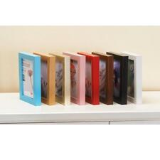 """6"""" Solid Wood Effect Wall Hanging Photo Frame Picture Album Poster Display"""