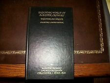 Enochian World of Aleister Crowley Sex Magick Ltd Leather Signed by both authors