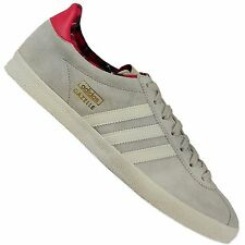 Adidas Originals Gazelle OG Women's Sneakers g95611 Wild Leather Shoes Grey Pink