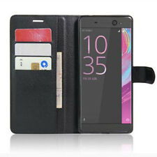 New Luxury Wallet Card Holder Leather Flip Case Cover For Sony Xperia XA Ultra