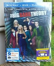 New and sealed!  The Big Bang Theory The Complete Sixth 6th Season Blu-ray, DVD
