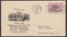 1935 Arkansas 99th Anniversay of Statehood Nice Cachet