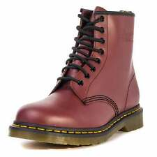 Dr. Martens Traditional 8 Eyelet Unisex Boots Cherry Red New Shoes