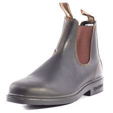 Blundstone Chelsea 062 Mens Chelsea Boots Dark Brown New Shoes