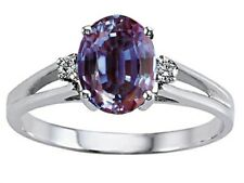 Simulated Alexandrite Ring