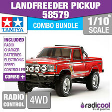 COMBO DEAL! 58579 TAMIYA LANDFREEDER PICK UP TRUCK 1/10th RADIO CONTROL KIT