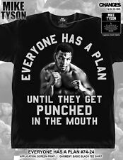 Mike Tyson Everyone Has a Plan Iron Mike Boxing World Champion T-Shirt 74-24
