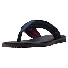 Ted Baker Bault Mens Flip Flops Black New Shoes