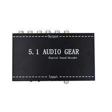 5.1 Audio Gear Digital Sound Decoder For Dolby AC-3 Dolby Pro Logic PCM DTS