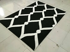 Area Rug Carpet Microfiber Hand Tufted Hand Crafted Quality Rugs 4002