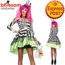 CA260 Deliriously Mad Hatter Alice In Wonderland Book Week Dress Outfit Costume