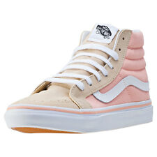 Vans Sk8-hi Slim Womens Trainers Pink Peach New Shoes