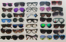 Wholesale Lot 10 to 150 Pair Assorted Styles Colors Women Sunglasses Glasses New