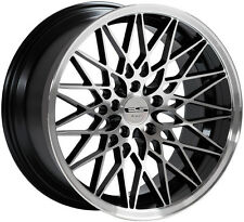 "Alloy Wheels 18"" Lenso ESG Black Polished For Land Rover Range Rover [P38] 94-02"