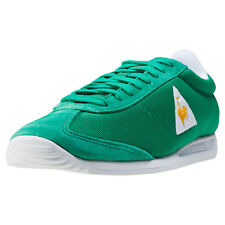 Le Coq Sportif Quartz Mens Trainers Green New Shoes