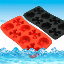 Silicone Tray Mould Ice Molds Mold Cube Bar Party Jelly Maker Skull Food-grade a