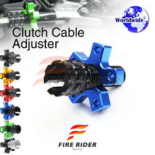 FRW 6Color CNC Clutch Cable Adjuster For Kawasaki Ninja 250R EX250 86-07 88 89