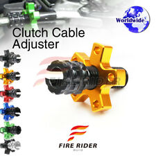FRW 6Color CNC Clutch Cable Adjuster For Kawasaki KD80 89-90 89 90