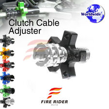 FRW 6Color CNC Clutch Cable Adjuster For Kawasaki Ninja ZX-6R ZX600 93-96 94 95