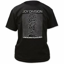 Joy Division - Unknown Pleasures Cover Waves T-Shirt - BRAND NEW - Gildan