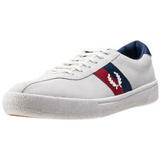 Fred Perry B1 Sports Authentic Tennis Mens Trainers Off White Navy New Shoes