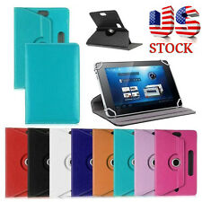 Universal Smart Leather Flip Stand Case Cover For 7/8/9/10inch Android Tablet PC