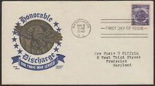 1946 Honoring Those Who Served 3c FDC Sc940-24 Ken Boll Cachetcraft Cachet
